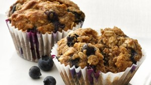 Buttermylk Blueberry Muffins